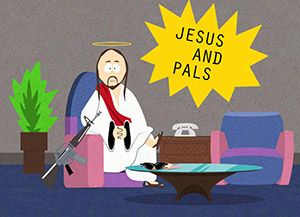 Jesus and pals