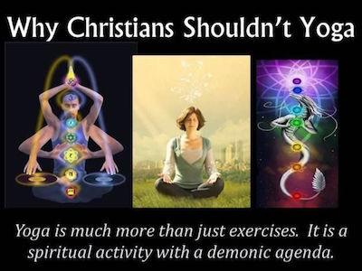 Yoga is demonic