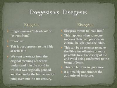 exegesis-vs-eisegesis